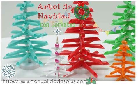 como hacer arbol navidad arbol de navidad con sorbetes paso a paso