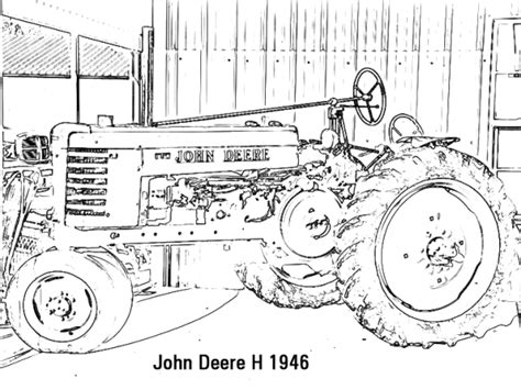 john deere log skidder coloring pages