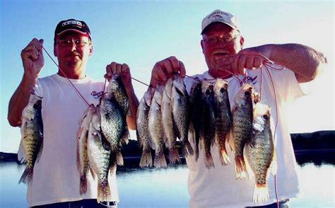 springtime crappie fishing  nebraska sports