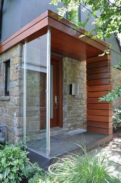 Cavalcanti entry porch modern veranda dc metro by carib daniel martin architecture and