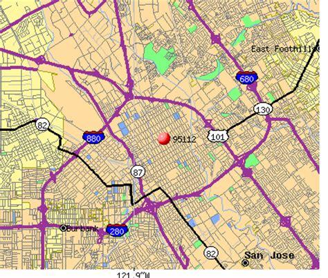 san jose income map 95112 zip code san jose california profile homes