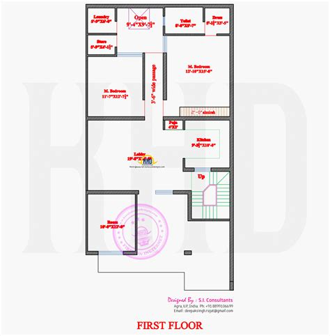 1st floor house plan india plan available modern house home kerala plans