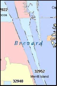 melbourne florida zip code map brevard county florida digital zip code map