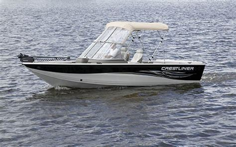 crestliner boats specifications research crestliner boats sportfish 1850 ob on iboats