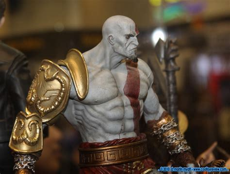 god of war review kratos is totally different and it sideshow kratos god of war statue m c f