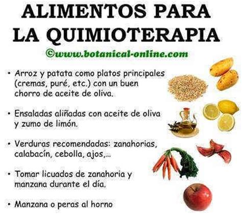 Detox Despues De Quimotherapy by Alimentos Para La Quimioterapia Despues De La