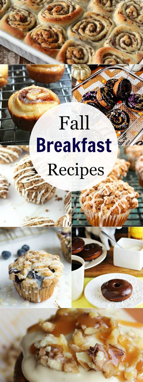 fall breakfast recipes all by and fall breakfast
