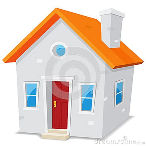 small cartoon house illustration shows done style isolated small cartoon house stock images image 32716294