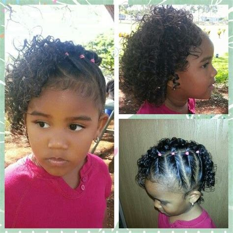 easy biracial hairstyles side twists with curls mixed babies hairstyles miyah