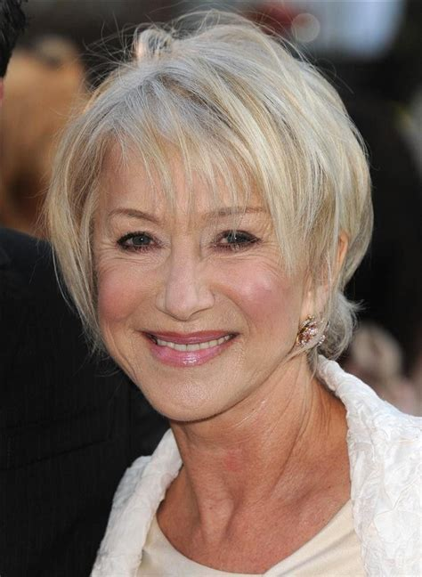 helen mirren hairstyles images 58 best helen mirren hair images on pinterest