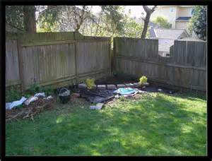 small backyard corner landscaping