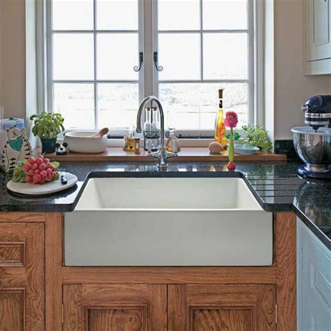 Farm Style Kitchen Sinks Randolph Morris 24 X 18 Fireclay Apron Farmhouse Sink