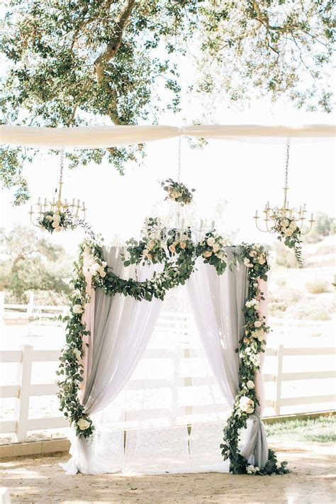 Wedding Arch Floral by Www Littlehillfloraldesigns Wedding Arch Ombre Fabric