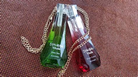 Parfum Vitalis Di Indo koleksi haruman syahirah vitalis eau de cologne syafierayamin
