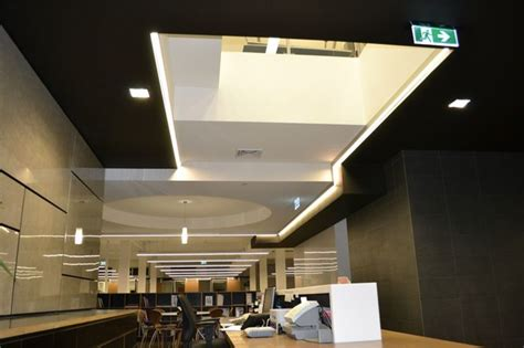 thomson adsett architects office modern ceiling