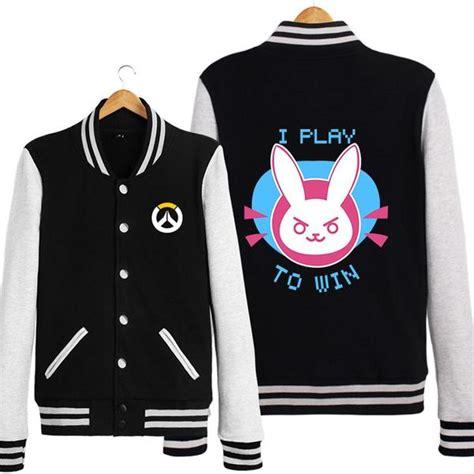 Sweater Overwatch Salsabila Cloth overwatch d va dva navy black jacket sd01064 kawaii harajuku fashion store