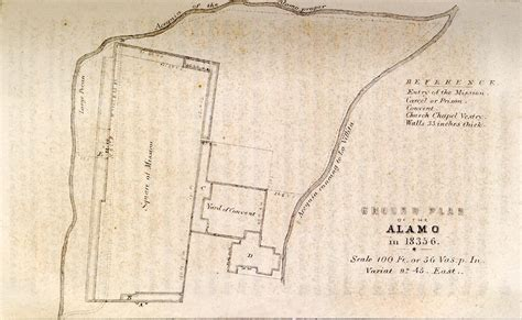 map of alamo texas alamo battle map