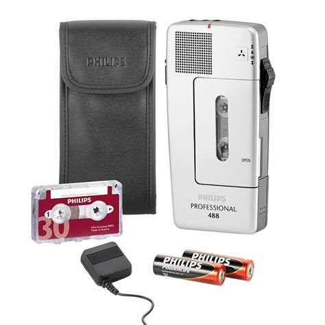 mini cassette philips mini cassette recorder lfh 488