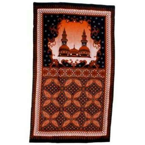 Batik Kesik Soga sajadah batik soga pusaka dunia