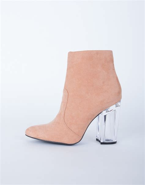 clear heel boots 2020ave