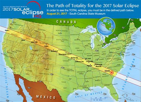 eclipse 2017 map total eclipse weekend columbia sc the total