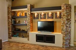 Chandeliers Wood Media Wall 3 Contemporary Family Room Phoenix By