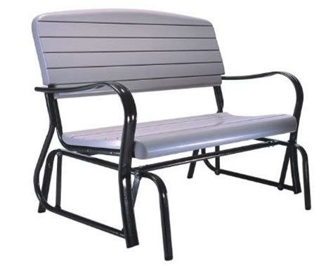plastic glider bench lifetime sheds lifetime outdoor plastic glider bench 2871