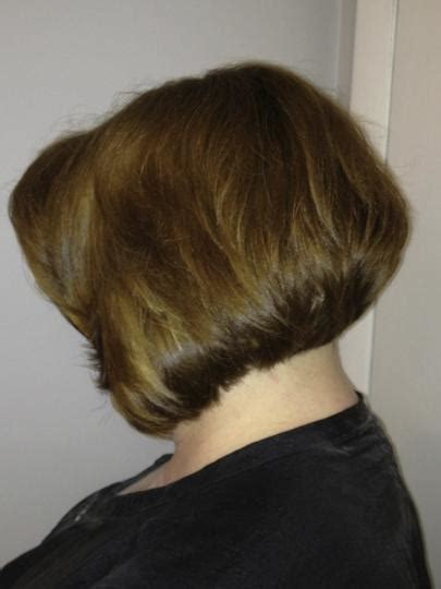 modified shaggy bob hair modified stacked haircut short hairstyle 2013