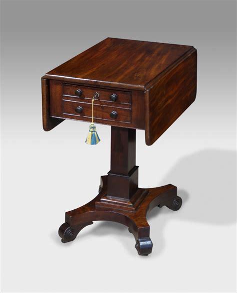 pedestal works antique pedestal work table sewing table antique