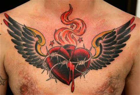 tattoo tribal di dada tattoo hati heart tattoo album 2 gambar seni tattoo