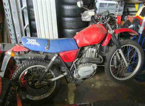 Motorrad Teile Markt by Honda Xl L 250 S Cross Motorrad Scheunenfund Bestes