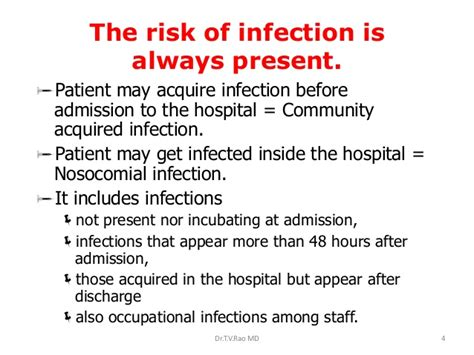 Infection Essay by Essay On Infection In Hospi
