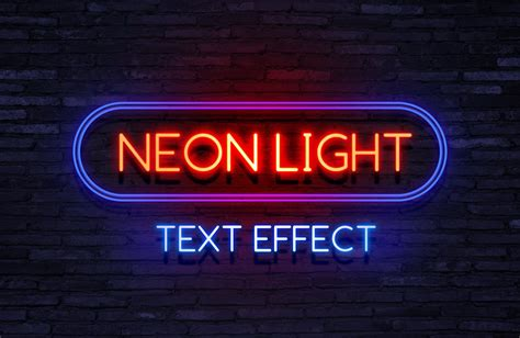neon light letters font 30 wonderful text effects for professional work free