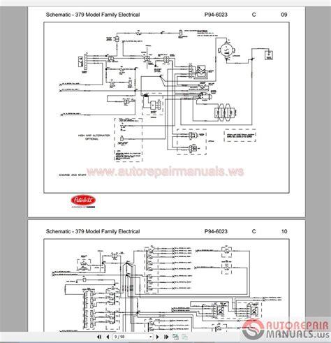 Peterbilt Shematic Diagram 379 Electrical Auto Repair