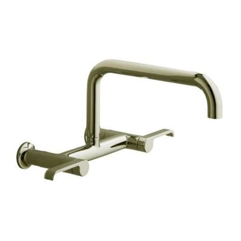Kohler Discontinued Faucets by Kohler Torq Wall Mount 2 Handle Low Arc Kitchen Faucet In