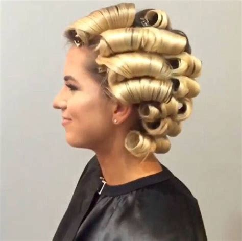 Big Curls With Hair Dryer 502 best curlers rollers rods 1 images on hair styles cake smash pictures and