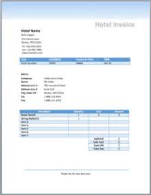 accommodation invoice template hotel invoice template room rental free invoice templates