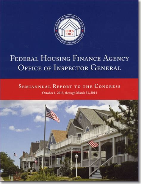 federal housing loans federal housing finance agency office of inspector general