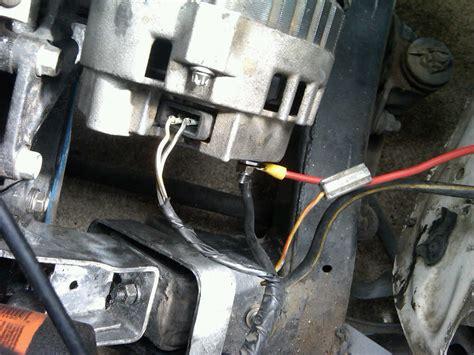 mazda  alternator wiring wiring library