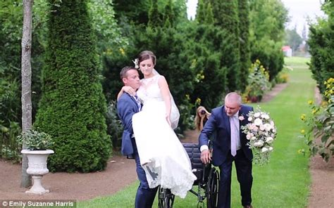 Wedding Aisle Crash by Moment Groom Carries His The Aisle After She