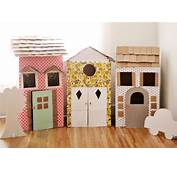 DIY Cardboard Playhouses – A Beautiful Mess