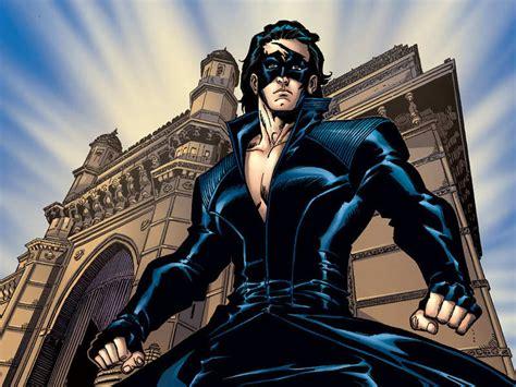 krrish  indian super hero     comic strip
