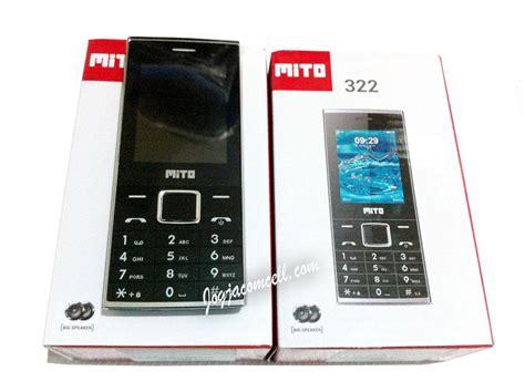 Mito 322 Big Speaker 2 4 jual promo mito 322 dual sim dual speaker jogjacomcell