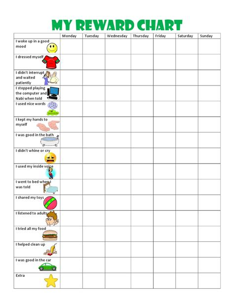 printable toddler sticker chart kids behavior chart this behavior chart changed our family