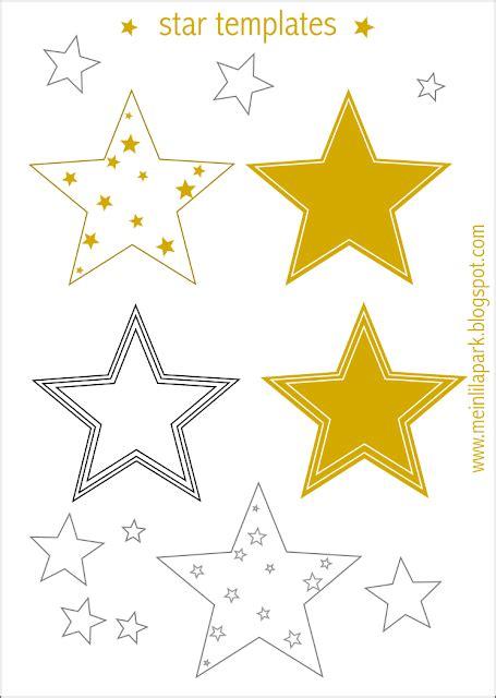 Free Printable Star Templates 16 Last Minute Diy Christmas Decorations Decoration Templates Free Printable