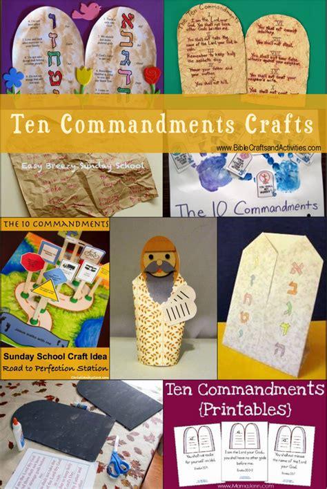 ten commandments craft ideas for ten commandments crafts v2 children s church