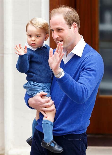 Prince George Wardrobe by Prince George S Blue To Meet Baby Princess Get The