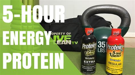 protein 5 hour energy a time saving hack 5 hour energy 174 with protein review