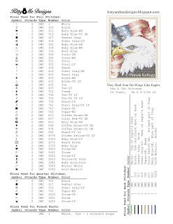 kitty and me designs: free patriotic cross stitch pattern