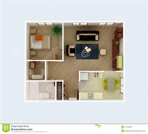 3d floor plan stock illustration image of design apartment floor plan stock illustration image of